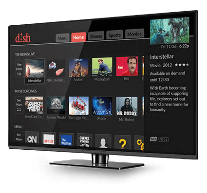 Watch Movies On Demand with The Hopper - Greenwood, MS - C B Satellite Service - DISH Authorized Retailer